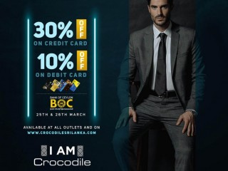 BOC cardholders! Enjoy 30% OFF on Credit & 10% OFF on Debit Cards