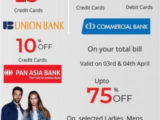 HILIFE AVURUDU WEEKEND WITH COMM BANK & UNION BANK
