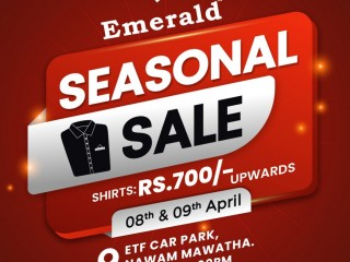 Emerald Seasonal sale