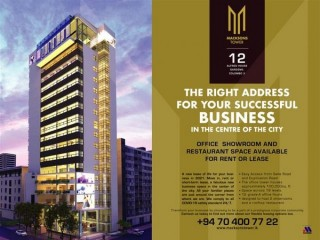 Macksons Tower-Office Space in Colombo 03