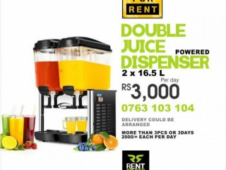 Double Juice Dispenser for Rent