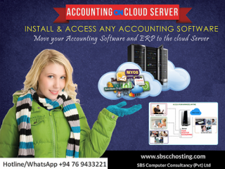 Cloud Servers. Access From Anywhere Anytime