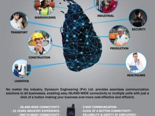 Island-wide 2-way Radio Communication by Dynacom Engineering