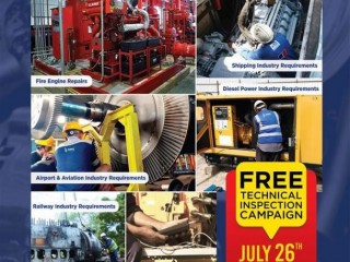 To Avoid Machinery Breakdowns, Call DIMO For The FREE Machinery Check-up