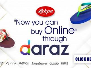 Buy Online through DARAZ