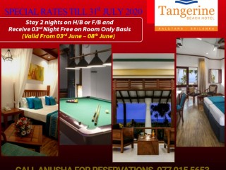Tangerine Beach Hotel-Exciting Special Offer
