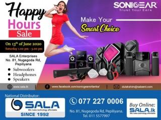 SALA Happy Hour SALE !!!