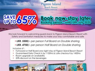 Pigeon Island Beach Resort - Book Now – Stay Later !!