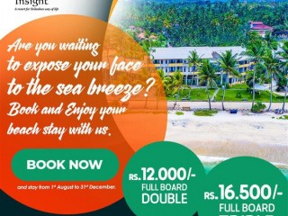 Insight Resort - Ahangama - Book Now and Stay from 1st of August