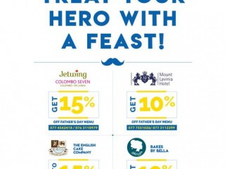 Hatton National Bank - HNB SOLO Father's Day Offers.