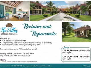 The Villas Wadduwa - Reclaim & Rejuvenate