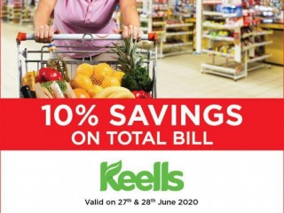 DFCC Bank - Enjoy 10% Off on the Total Bill at Keells with DFCC Credit Cards!