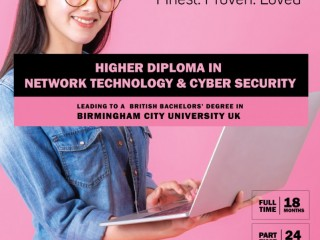 ICBT Campus - Enroll Now for HD in Network Technology and Cyber Security