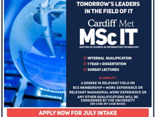 ICBT Campus - Final call MSc IT – Cardiff Metropolitan University