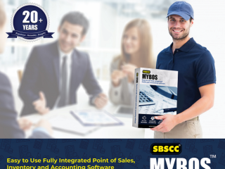 SBSCC - MYBOS Accounting and Point of Sales Software - Unlimited Users & Databases