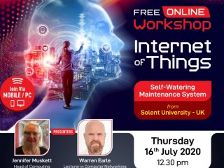 BCAS Campus - ' Workshop on IoT from University of Solent, UK'