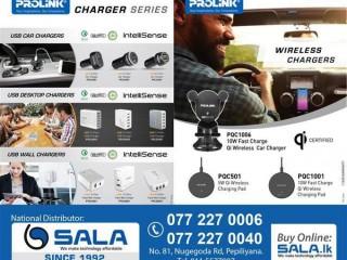 SALA Enterprises - Prolink Charger Series - Shop Now.