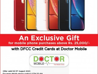 Exclusive Offer at Doctor Mobile with DFCC Credit Cards!