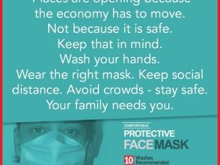 CELCIUS Solutions - NMRA Certified Reusable Mask