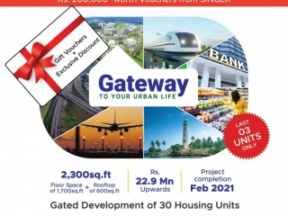 Kelsey Homes (Pvt) Ltd - Open Days: 25th and 26th July at Urban Gateway Kottawa! Exclusive offers worth LKR 700,000*