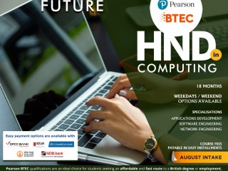 ESOFT Metro Campus - HND in Computing - The fastest and most cost-effective pathway to a British IT degree