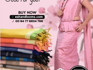East Star Handlooms - New Colorful Handloom Sarees Just for you!