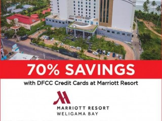 FLASH DEAL! 70% Savings at Marriott Resort with DFCC Credit Cards