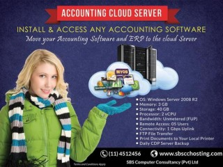 "SBSCC - ""Your Desktop Accounting Software On Cloud. Access From Anywhere"""