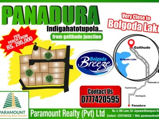Paramount Redefining Real Estate - BOLGODA BREEZE BY PARAMOUNT REALTY