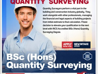 ICBT Campus - Enroll for RICS Accredited BSc (Hons) Quantity Surveying Degree at ICBT Campus
