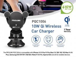 SALA Enterprises - Prolink PQC1006 10W Qi Wireless Car Charger