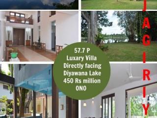 Safetynet Pvt Ltd - Lake facing luxury villa 57.7 Perches in Rajagiriya